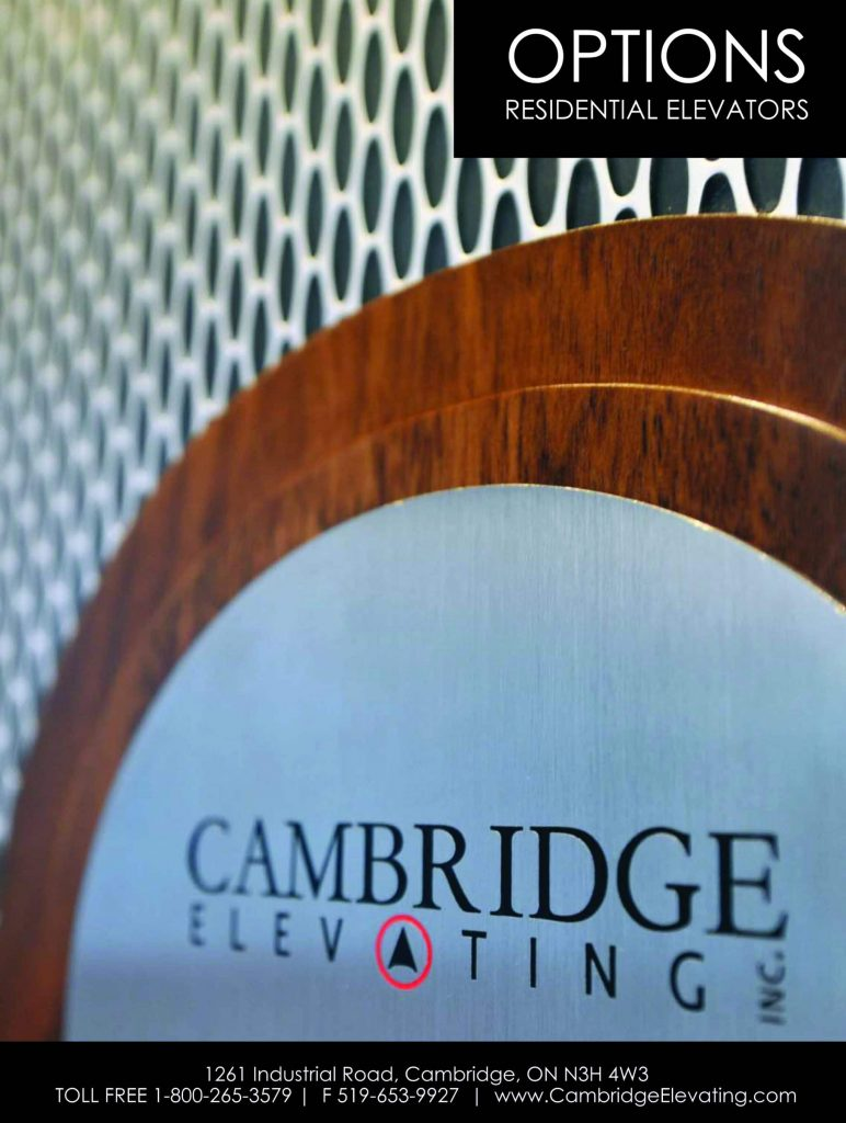 Cambridge Elevating: Options Are Important!