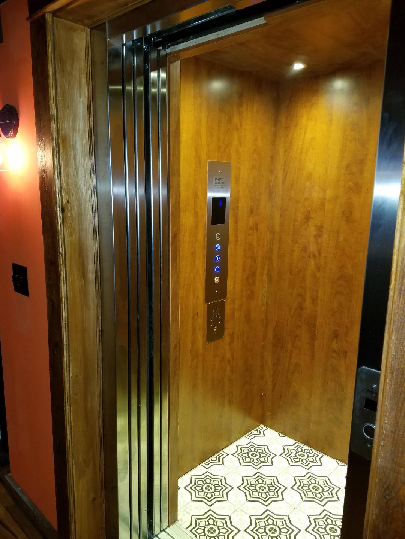 Wesley Elevator Install